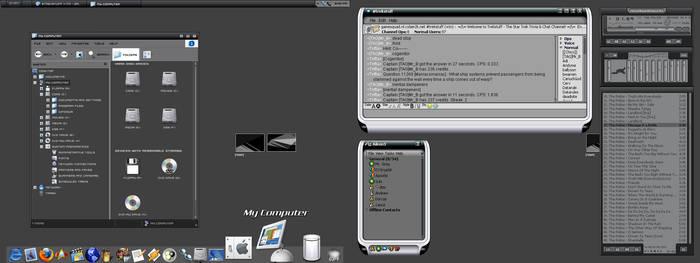 Mr. B's Desktop - Noir v2