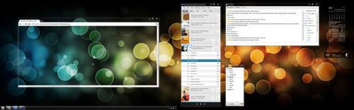 Mr. B's Desktop - Bokeh by kol