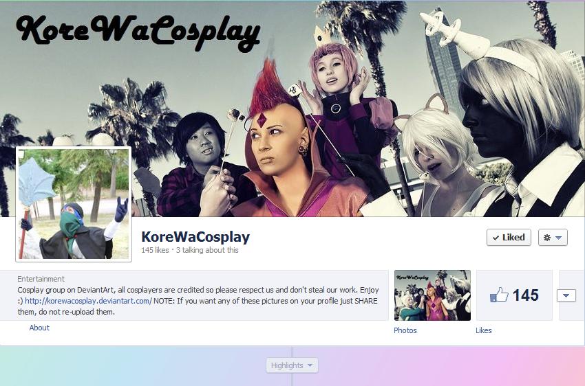 KoreWaCosplay fanpage for everyone! by SamhainKWC