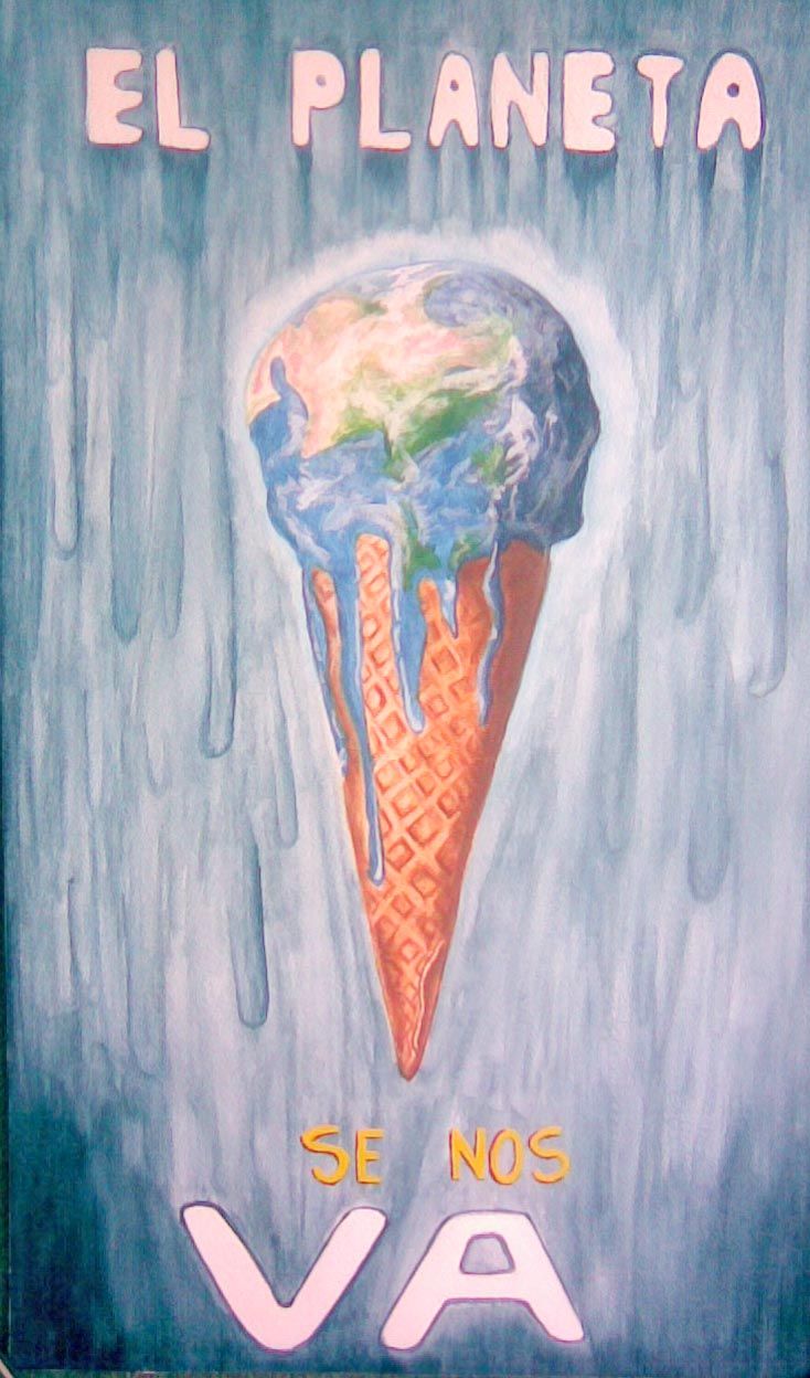 Cartel calentamiento global by jlfr on DeviantArt