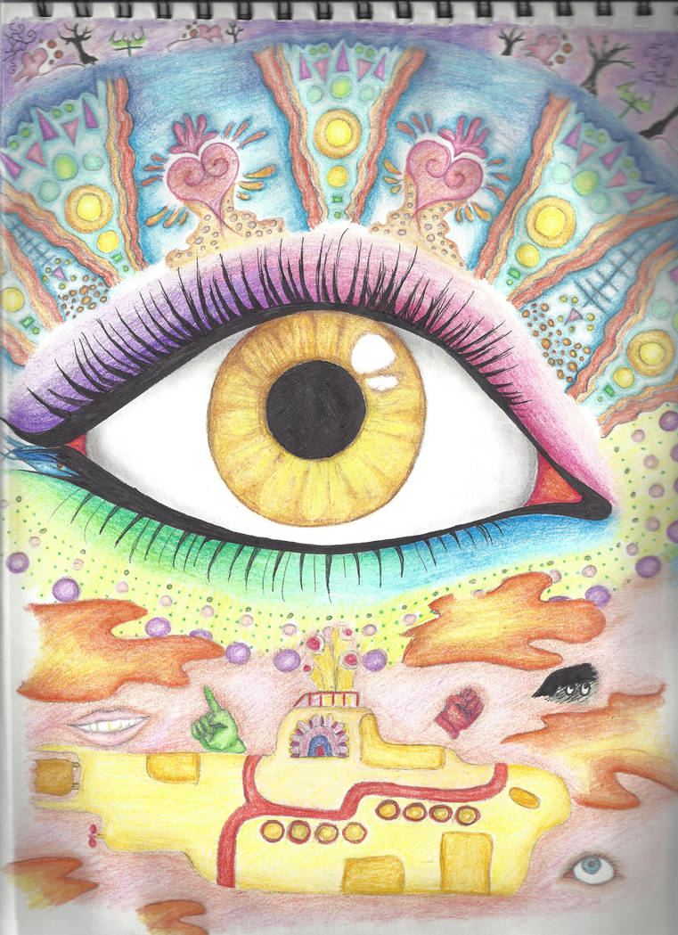 Lucy In The Sky With Diamonds In Your Eyes