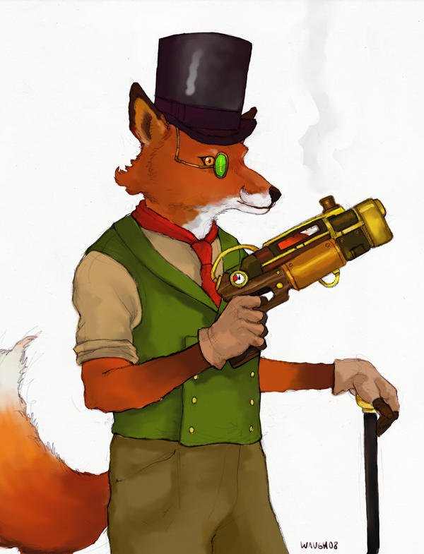 Steam Fox by Waughkizashi