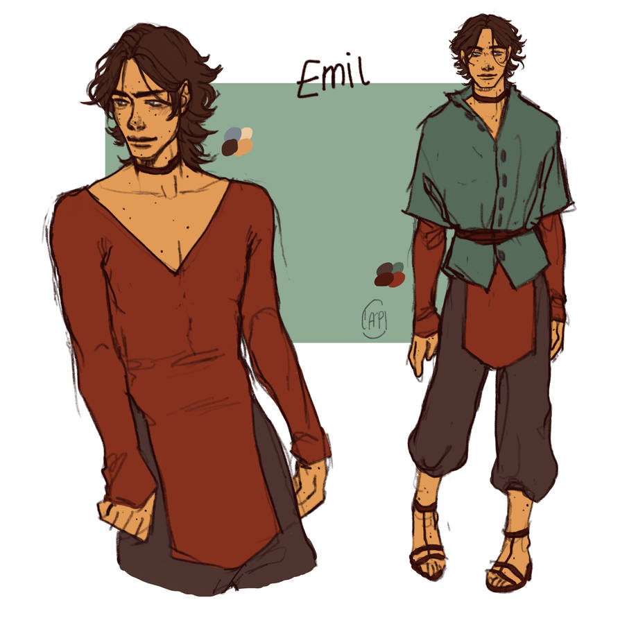 Emil [The Arcana MC] by CAPImichi on DeviantArt