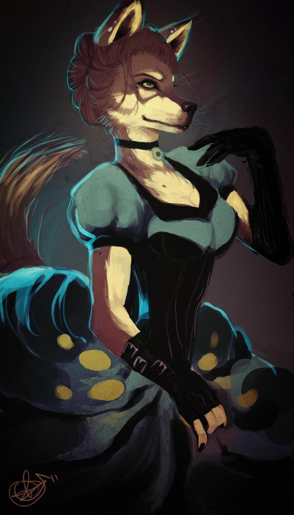 Lady K.Wolf by Spikie