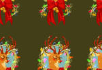 Christmas tile wallpaper!!! by Spikie