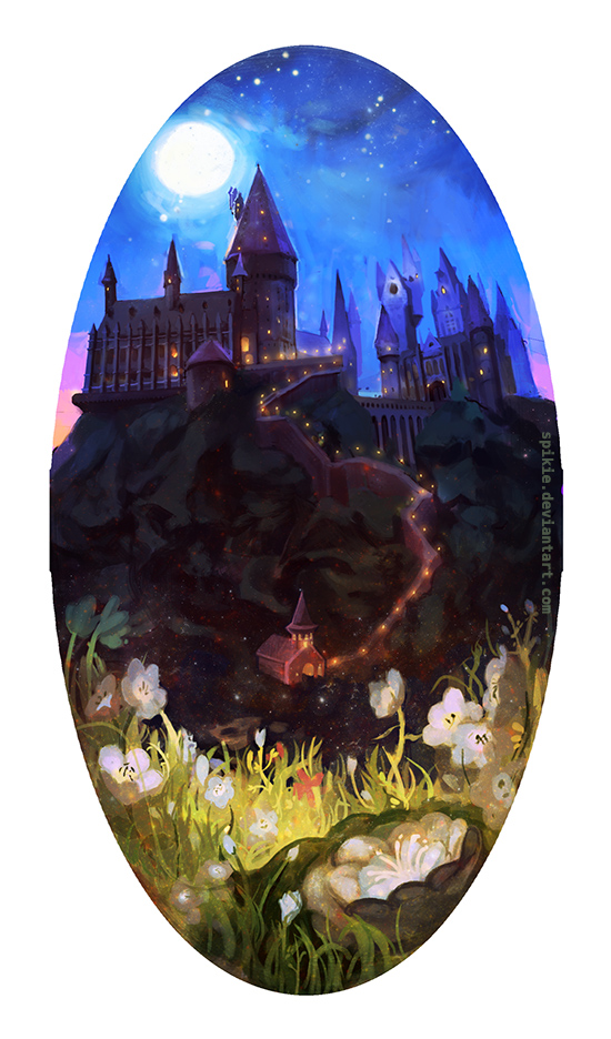 Hogwarts by Spikie