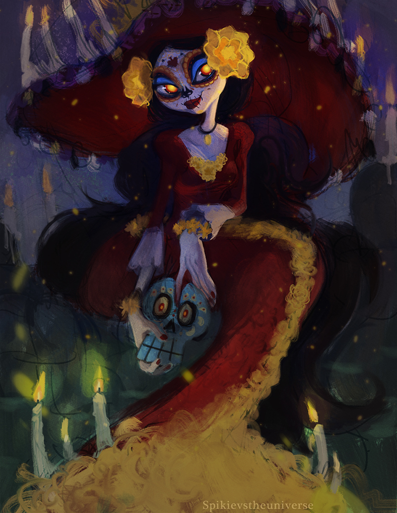 Character Design The Book Of Life : La muerte by spikie on deviantart