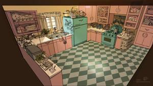 Aberford Kitchen - NOW ON KICKSTARTER by Spikie