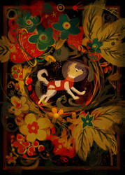 Happy Laika Poster by Spikie