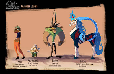 Chivalry Character line up by Spikie
