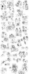 Laika sketch comp 1 by Spikie