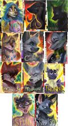 Califur 2016 Badges by Spikie