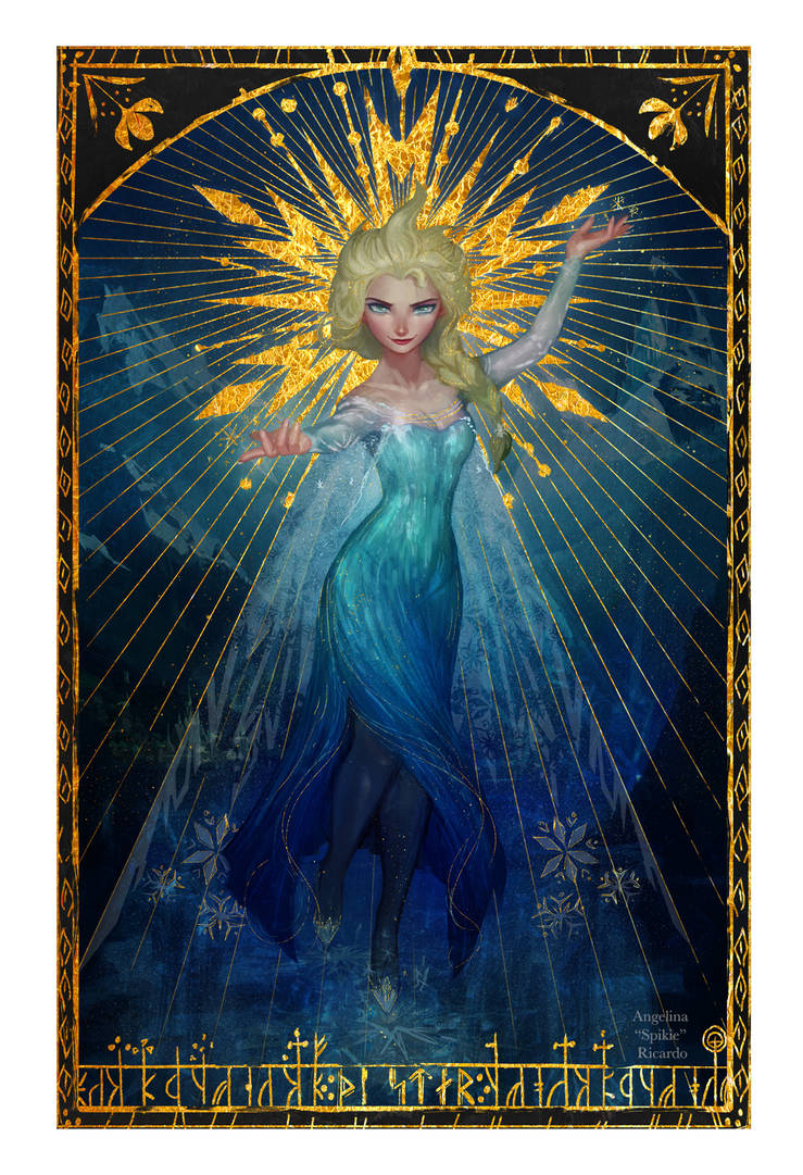 Elsa, the Star by Spikie