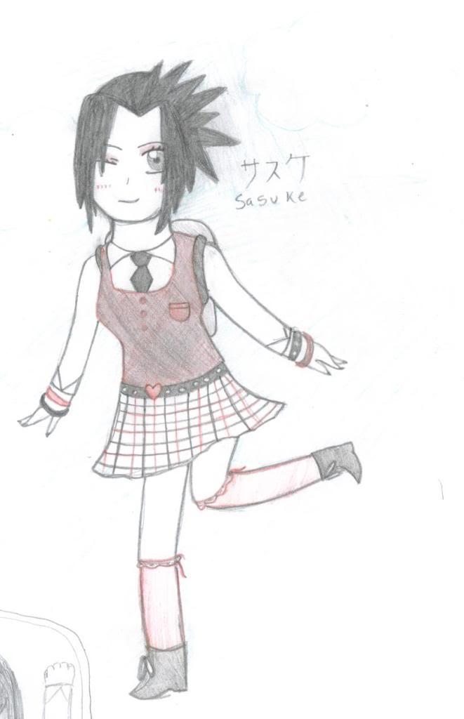 Female Sasuke by SammYJD on DeviantArt