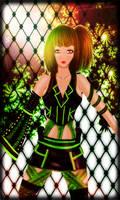 OC - Green Girl Mimi by KellyKellyPyonn