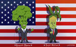 Broccoli Obama + Sugar McCain