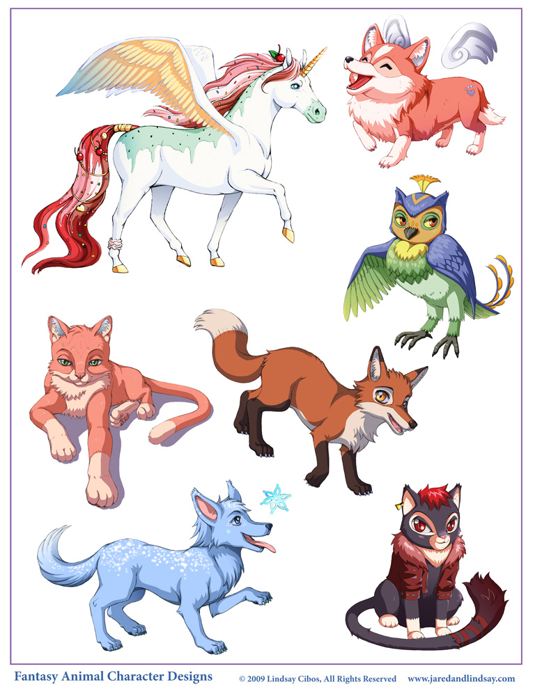 Character Design Deviantart : Animal character designs by lcibos on deviantart