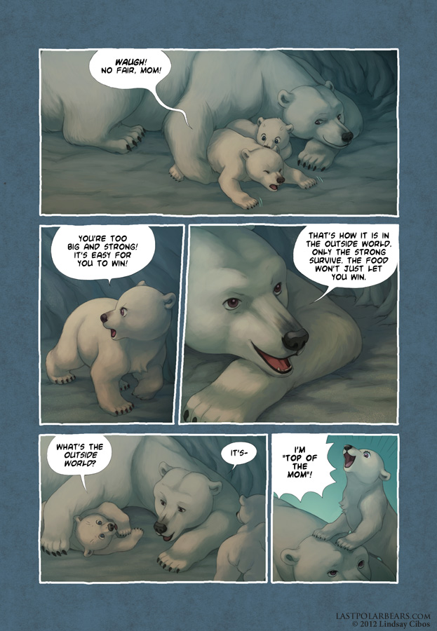 Last of the Polar Bears pg 6 by LCibos