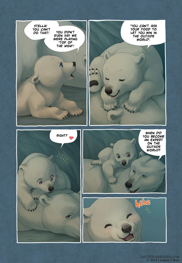 Last of the Polar Bears pg 7 by LCibos