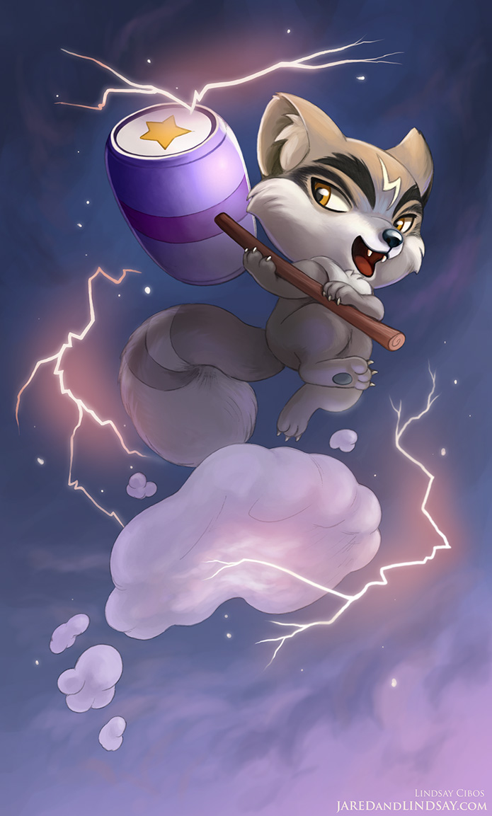 Thunder Wolf by LCibos