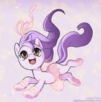 Little Ballerina Pony + tutorial