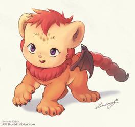 Lil Manticore Cub