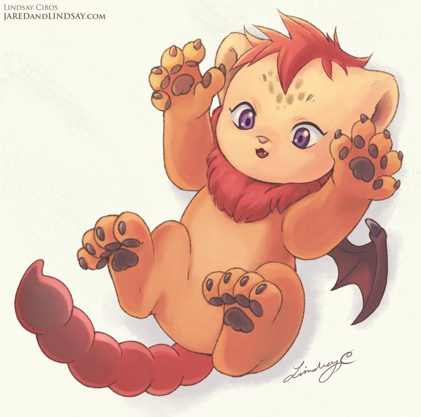 Lil Manticore Cub 04 by LCibos