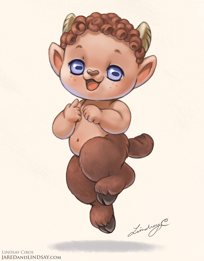 Satyr Kid by LCibos