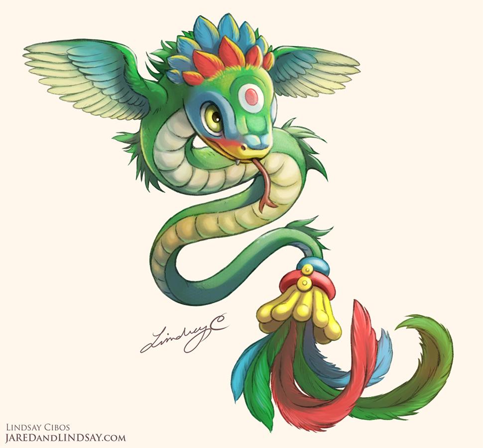 Quetzalcoatl Hatchling by LCibos