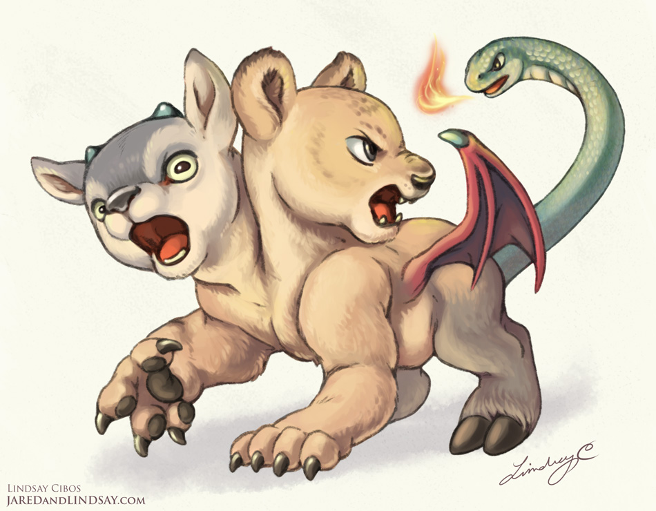 Chimera Cub by LCibos