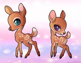 Sweet Deer by LCibos