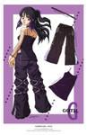 Fashion Girl - Goth