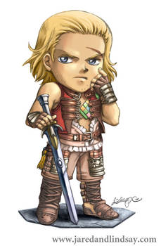 SD Basch from FFXII - color