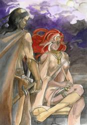 Meeting Lady Zauviir. by Graveyard-Keeper