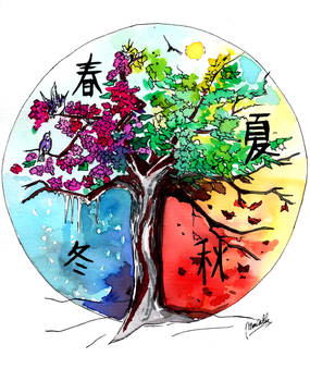 Seasons Hanzi