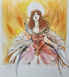 Redhead Angel.