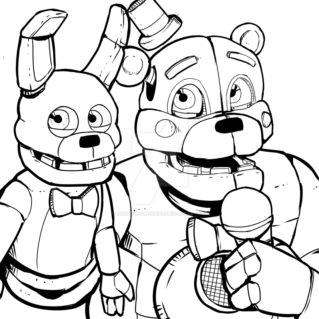 Similiar Fun Time Freddy Coloring Pages Keywords