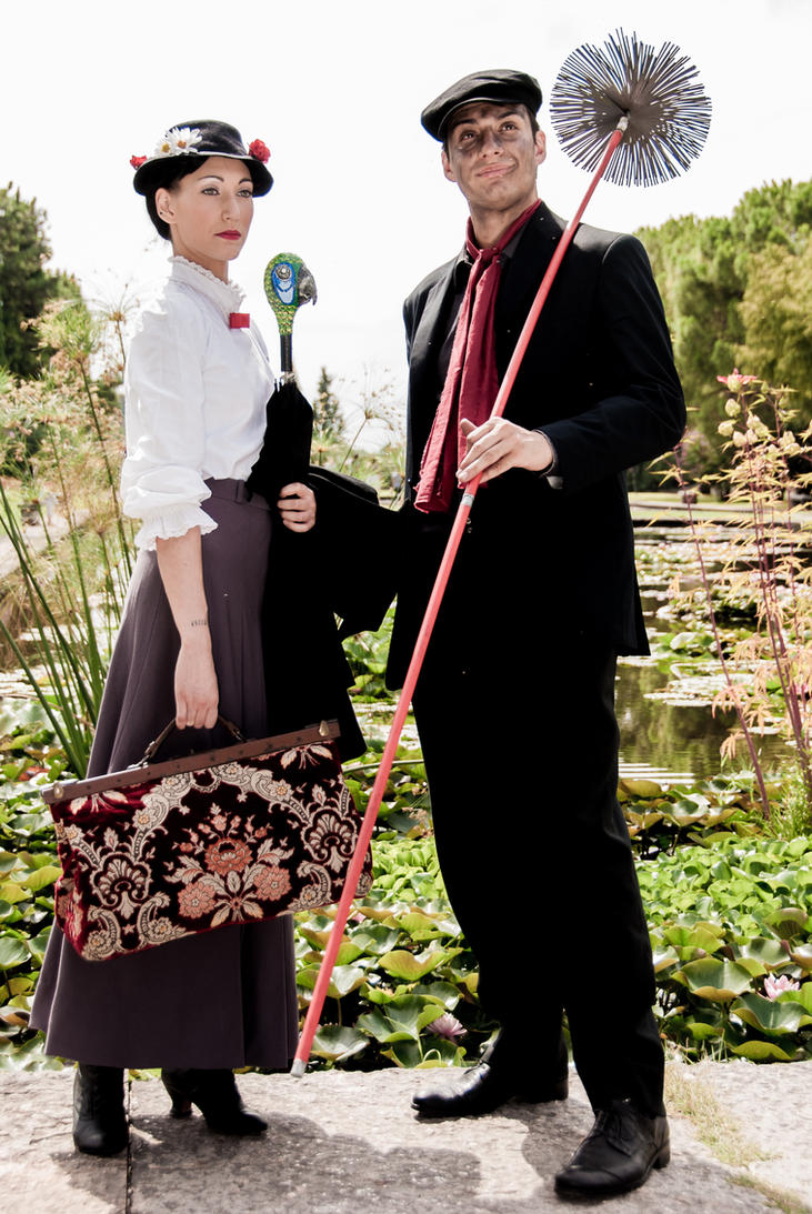 Mary Poppins and Bert: together we can, always by Bewitchedrune