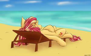 ATG IX 21 - Sunbathing-Sunny