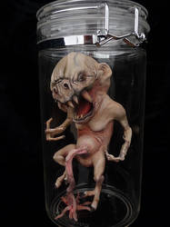 Preborn in Jar by FerranSan