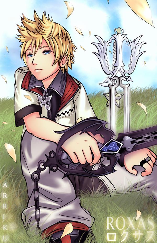 Kingdom hearts roxas and sora yaoi
