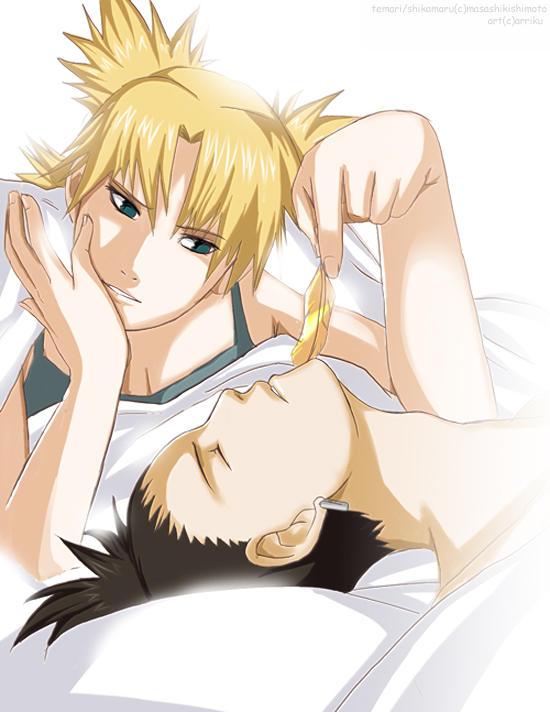 imagenes de parejas de naruto A_Shikatema_Morning_by_arriku