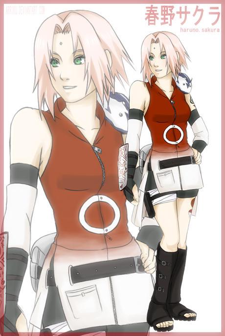 Sakura Haruno Red Dawn Army Boards