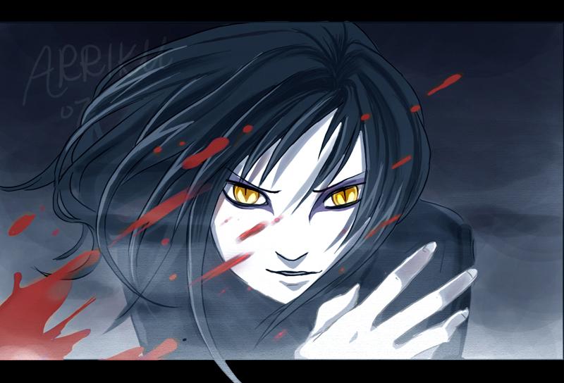 Regarde une feuille de personnage Orochimaru_by_arriku
