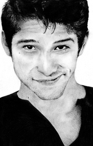 Tyler Posey Drawing