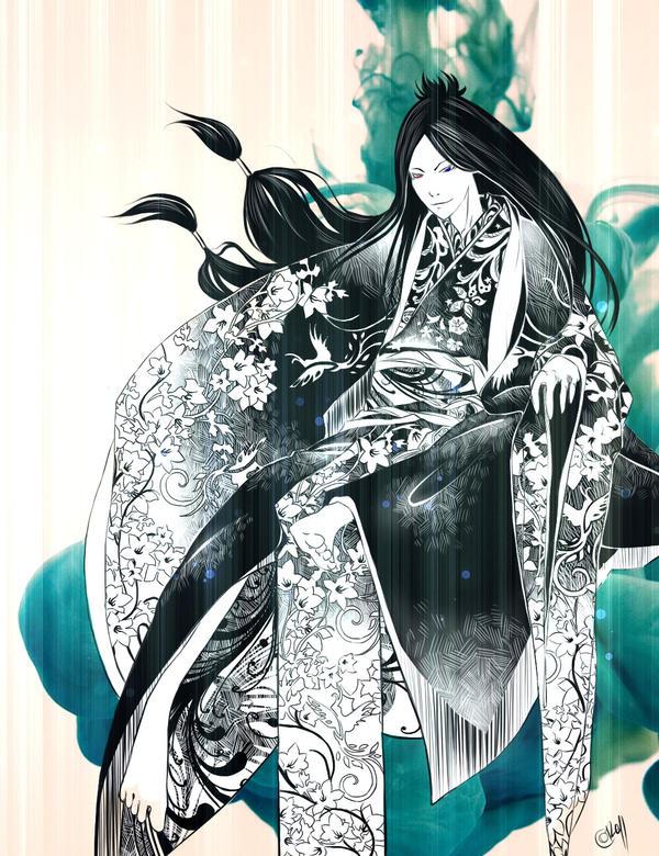 KHR:D.Spade in asian clothing by KokorodzasySu