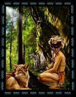 Coyote Medicine by amethystmoonsong