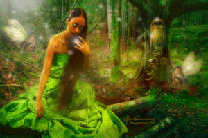 Fae Woodland Magick by amethystmoonsong