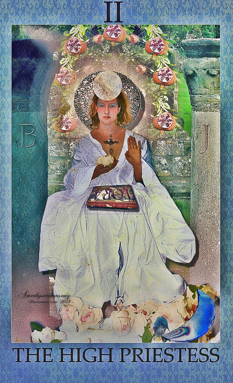 The High Priestess by amethystmoonsong