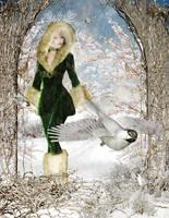 Winter Elf by amethystmoonsong